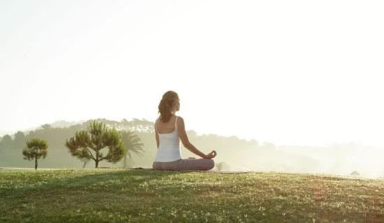 瞑想シーン