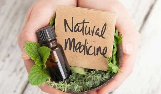植物療法の化粧品