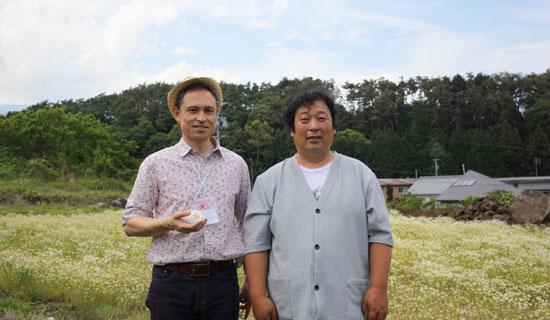 川上博士とHILOオーナー
